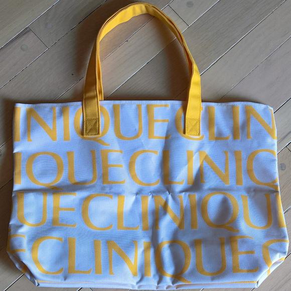 Clinique Handbags - New Clinique Logomania Tote